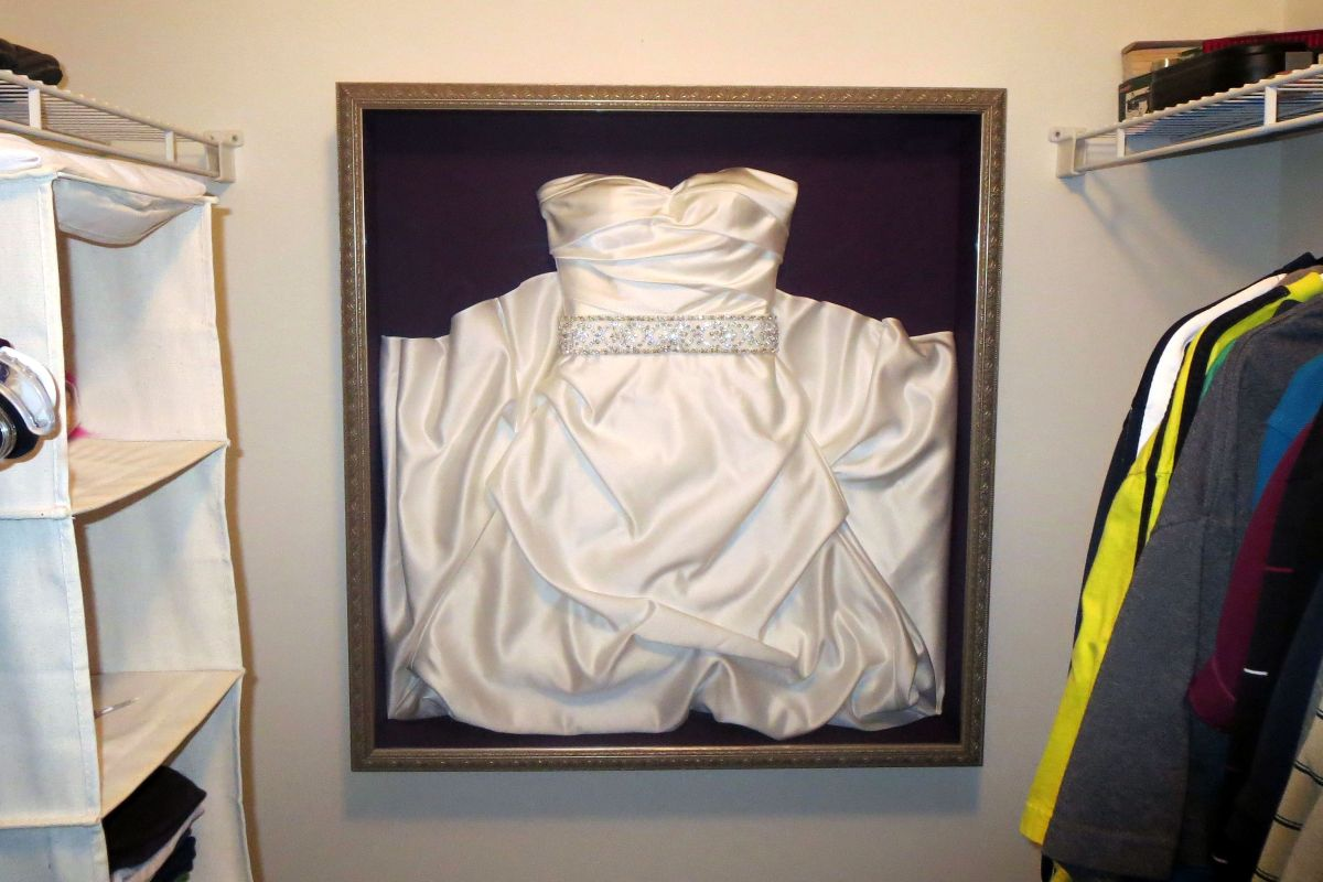 Frame your Wedding Dress