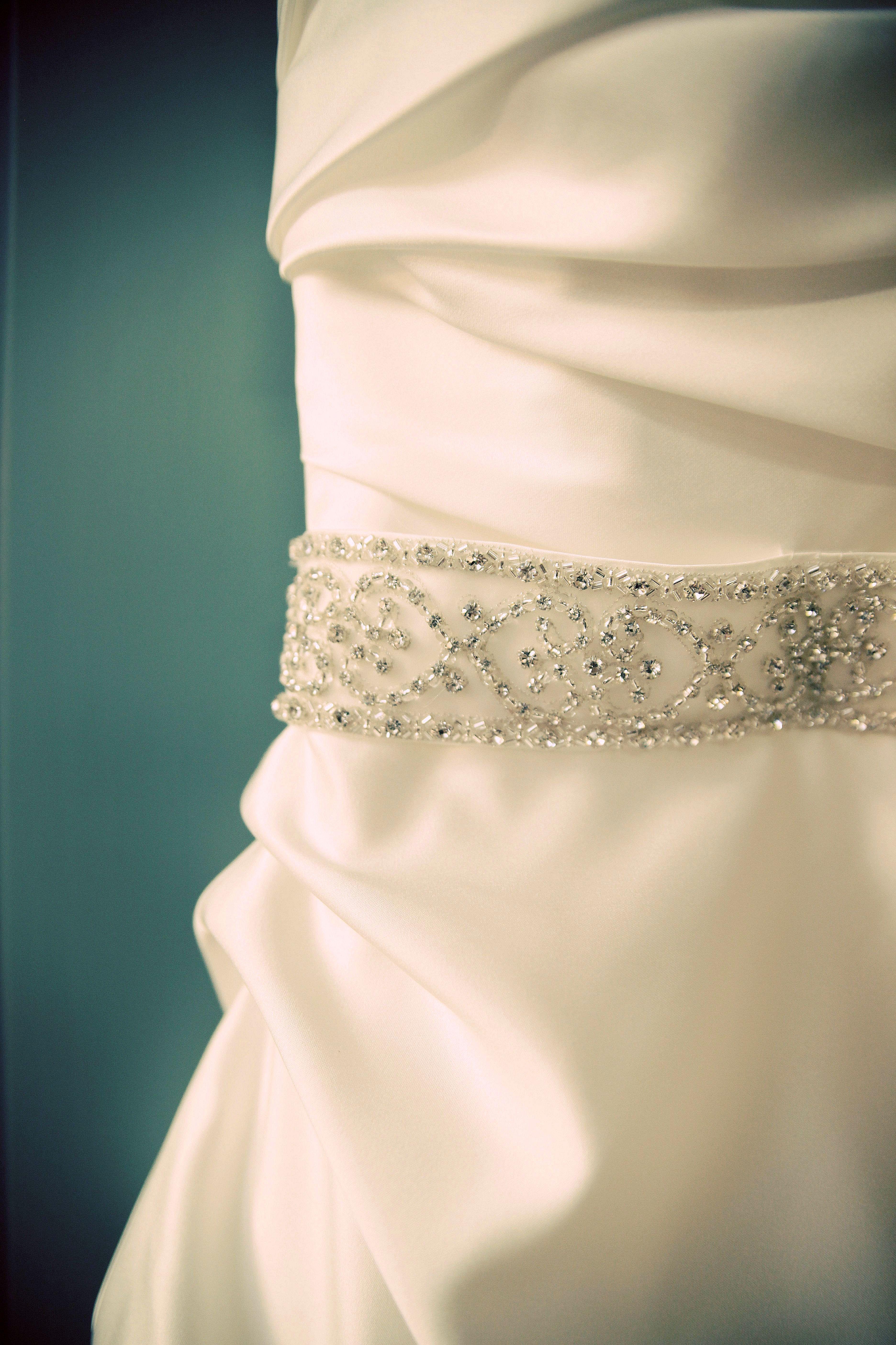 Frame your Wedding Dress | Our Front Door Looking in...