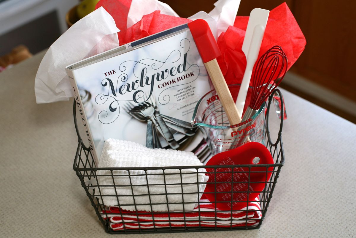 Kitchen Themed Bridal Shower Gift